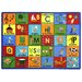 Educational Bi-lingual Phonics Kids Rug