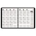 800 Range Monthly Planner, 9 x 11, Black, 2014