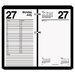 <strong>At-A-Glance</strong> One-Color Daily Desk Calendar Refill, 4-1/2w x 8h, 2013