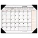 At-A-Glance Two-Color Monthly Desk Pad Calendar, 22 x 17, 2013