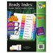 <strong>Avery Consumer Products</strong> Ecofriendly Ready Index Table of Contents Divider, 1-10 Tabs, 3/Pack