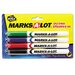 Avery Consumer Products Marks-A-Lot Pen Style Dry Erase Markers, Bullet Tip (4 Pack)