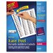 Avery Consumer Products Easy Peel Laser Mailing Labels, 6000/Box