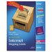 Avery Consumer Products Kraft Shipping Labels, 20/Pack