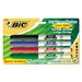 <strong>Great Erase Grip Dry Erase Fine Point Markers (4 Pack)</strong> by Bic Corporation