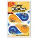 Bic Corporation Non-Refillable Wite-Out Ez Correct Correction Tape (4/Pack)