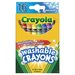 Washable Crayon (16 Count)