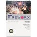 <strong>Boise®</strong> Fireworx Colored Paper, 20 lbs., 11 x 17, Bottle Rocket Blue, 500/Ream