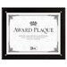 DAX® Plaque-In-An-Instant Kit w/Certificates & Mats, Wood/Acrylic, 10-1/2x13, BLK