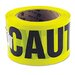 Caution Safety Tape, Non-Adhesive