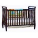 Storkcraft Sleigh 2-in-1 Fixed Side Convertible Crib