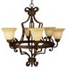 Riata 6 Light Chandelier