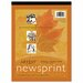 <strong>Art1St Newsprint Pad, 50 Sheets/Pad</strong> by Pacon Corporation