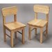 <strong>Gift Mark</strong> Rounded Kid's Chair (Set of 2)