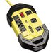 Safety Surge Suppressor, 8 Outlet, Osha, 12Ft Cord, 1500 Joules