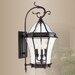 Livex Lighting Fleur De Lis Outdoor Wall Lantern