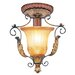 Villa Verona 1 Light Semi Flush Mount
