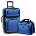 <strong>Rio 2 Piece Expandable Luggage Set</strong> by Traveler's Choice