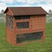 <strong>Ware Mfg</strong> Premium+ Chicken Coop with Ramp