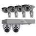 <strong>PRO 8CH 1TB Smart Security DVR with 2 x 600TVL Dome Cameras, 4 x 60...</strong> by SVAT Electronics
