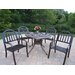 Elite Rochester 5 Piece Dining Set