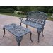 Mississippi 2 Piece Bench Seating Group