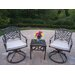 Mississippi 3 Piece Swivel Rocker Seating Group