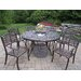 Mississippi Dining Set with Cooler Insert