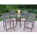 Oakland Living Hummingbird Mississippi Bar Height Dining Set