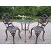 Oakland Living Sunflower 3 Piece Bistro Set