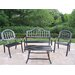 <strong>Rochester 4 Piece Lounge Seating Group Set</strong> by Oakland Living