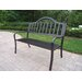 Oakland Living Rochester Iron Garden Bench