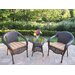 <strong>Resin Wicker 3 Piece Lounge Seating Group Set</strong> by Oakland Living