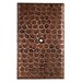 <strong>Premier Copper Products</strong> Blank Hand Hammered Copper Switch Plate Cover