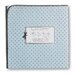 <strong>Ultimate Receiving Blanket® in Pastel with Brown Polka Dots</strong> by Swaddle Designs