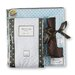 <strong>Swaddle Designs</strong> 3 Piece Gift Set in Pastel with Brown Dots