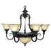 Yosemite Home Decor Verona 9 Light Chandelier
