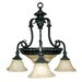 Yosemite Home Decor Verona 5 Light Chandelier