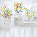 <strong>Yosemite Home Decor</strong> Revealed Artwork Posies Original Painting on Canvas