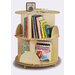 "32"" H Two Shelf Book Carousel"