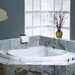 "<strong>Bellavista 60"" x 60"" Corner Soaking Tub</strong> by Jacuzzi®"