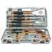 <strong>18 Piece Tool Grilling Set</strong> by Mr. Bar-B-Q