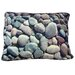 <strong>Rectangle River Rock Dog Pillow</strong> by Dogzzzz