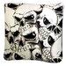 Dogzzzz Rectangle Skulls Dog Pillow