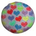 <strong>Dogzzzz</strong> Round Hearts Dog Pillow