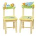 <strong>Guidecraft</strong> Savanna Smiles Kids Desk Chair (Set of 2)