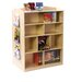 "<strong>Double-Sided 48"" Bookcase</strong> by Guidecraft"