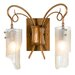 <strong>Soho Recycled 2 Light Bath Vanity Light</strong> by Varaluz