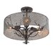 Varaluz Treefold 3 Light Semi Flush Mount