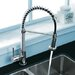 Vigo One Handle Single Hole Pull Out Spiral Kitchen Faucet